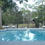Watercolor Fl Boathouse Pool