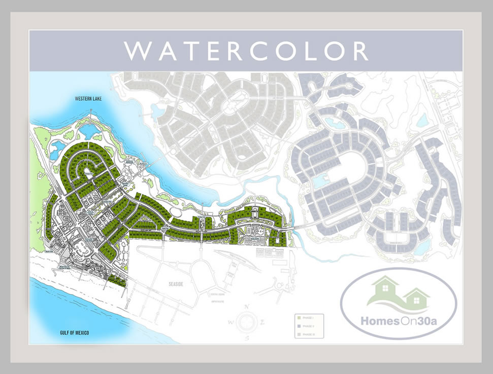Watercolor Real Estate Phase One Homes On 30a 174 850 660 1830