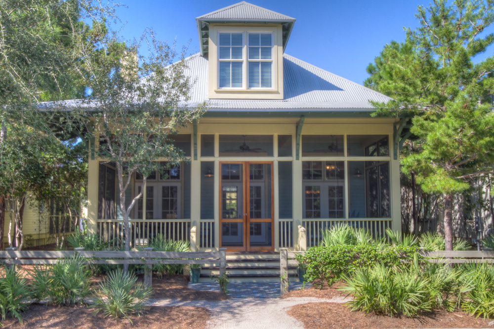 Watercolor Real Estate Listing