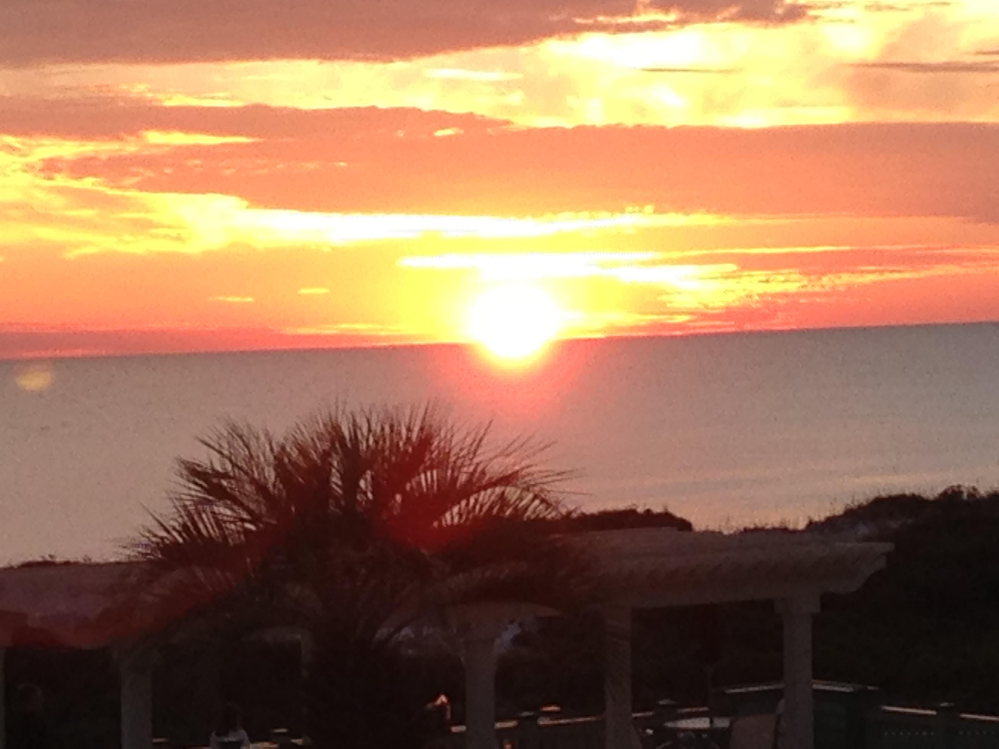 WaterColor Florida Sunset